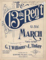 13th Regiment : march